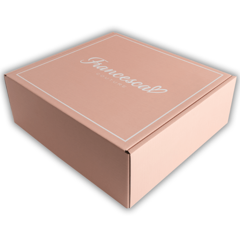 Branded mailing boxes