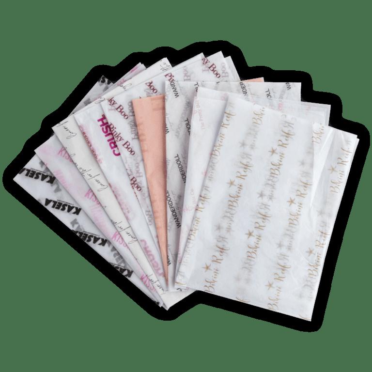 Printed tissue paper