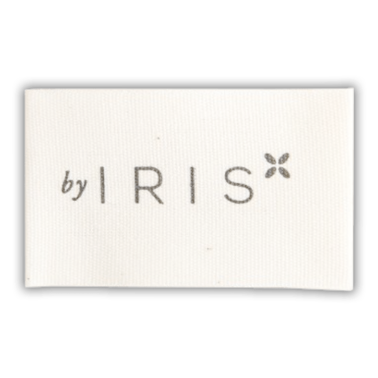 Personalised cotton labels